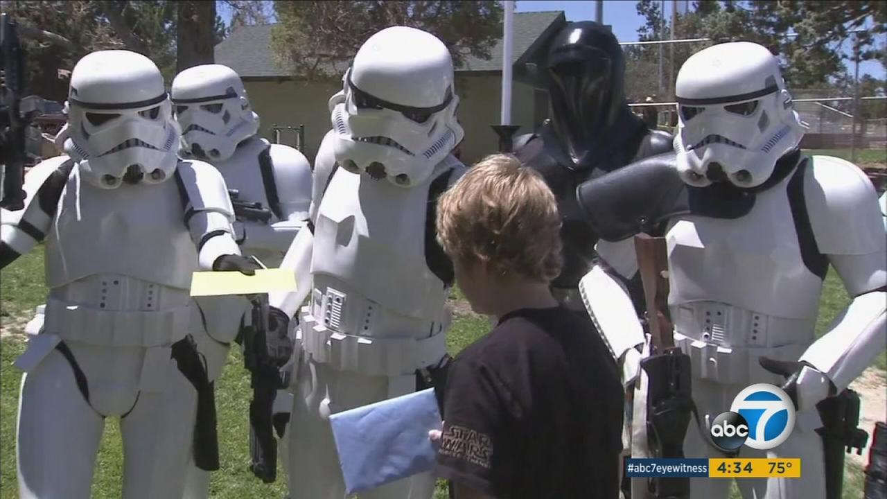 Community Gives Birthday Surprise For Autistic Boy In Big Bear