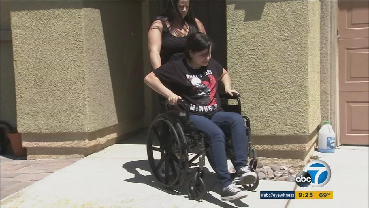 A brother and sister in Palmdale are facing extreme challenges every day as they both suffer from a rare disease that does not yet have a cure.