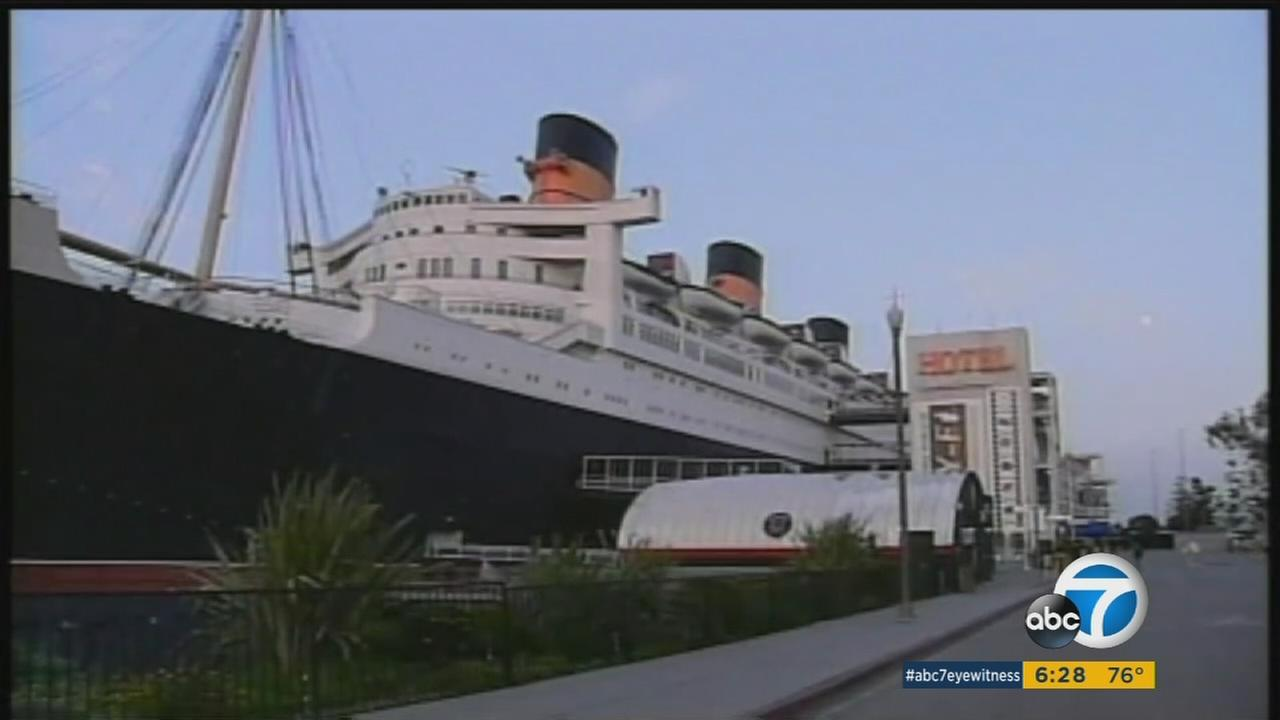 The Queen Mary in Long Beach is shown in an image on Thursday, Aug. 11, 2016.