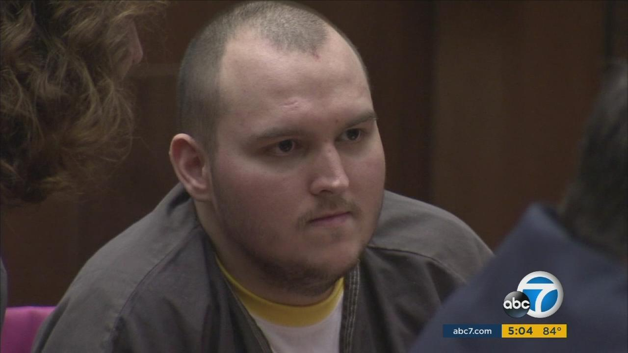 The trial for Harry Burkhart, the suspect in an arson spree, began in downtown Los Angeles on Monday, Aug. 15, 2016.