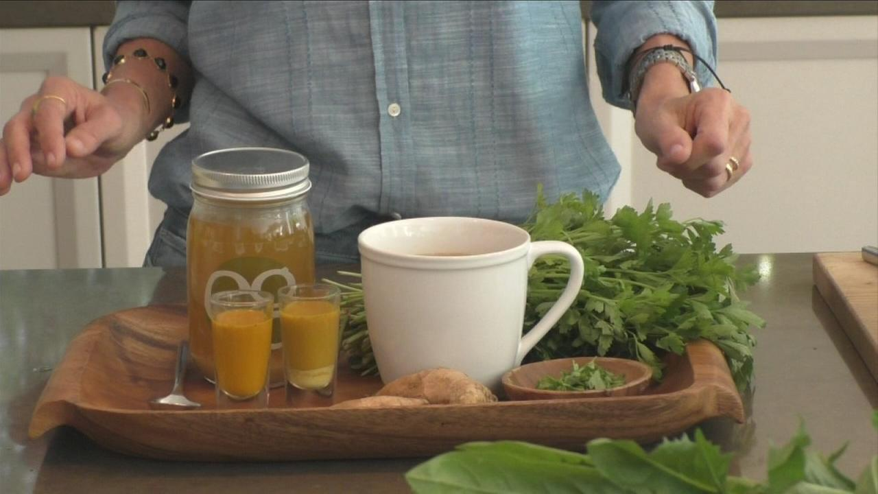 One of many nutritional tonics is shown in an undated photo.
