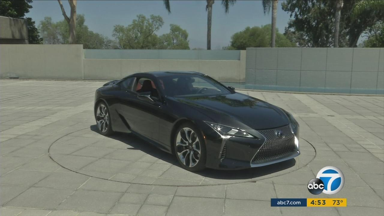 A Lexus LC-500 is shown in an undated photo.
