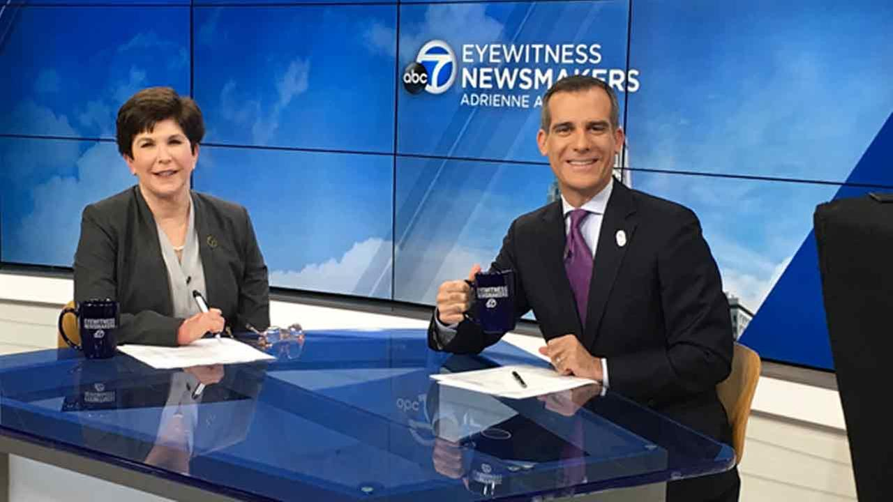 Los Angeles Mayor Eric Garcetti said this years L.A. Unified School District graduating seniors will be the first class eligible to attend their first year of community college for free.