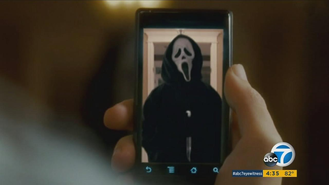 A man wearing a mask from the movie Scream broke into a Santa Monica house early Sunday and shot the homeowner before fleeing, police said.