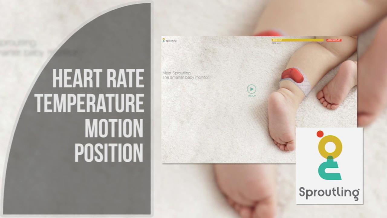 An ankle health monitor by the company Sproutling claims to track a babys heart rate, temperature, motion and more.