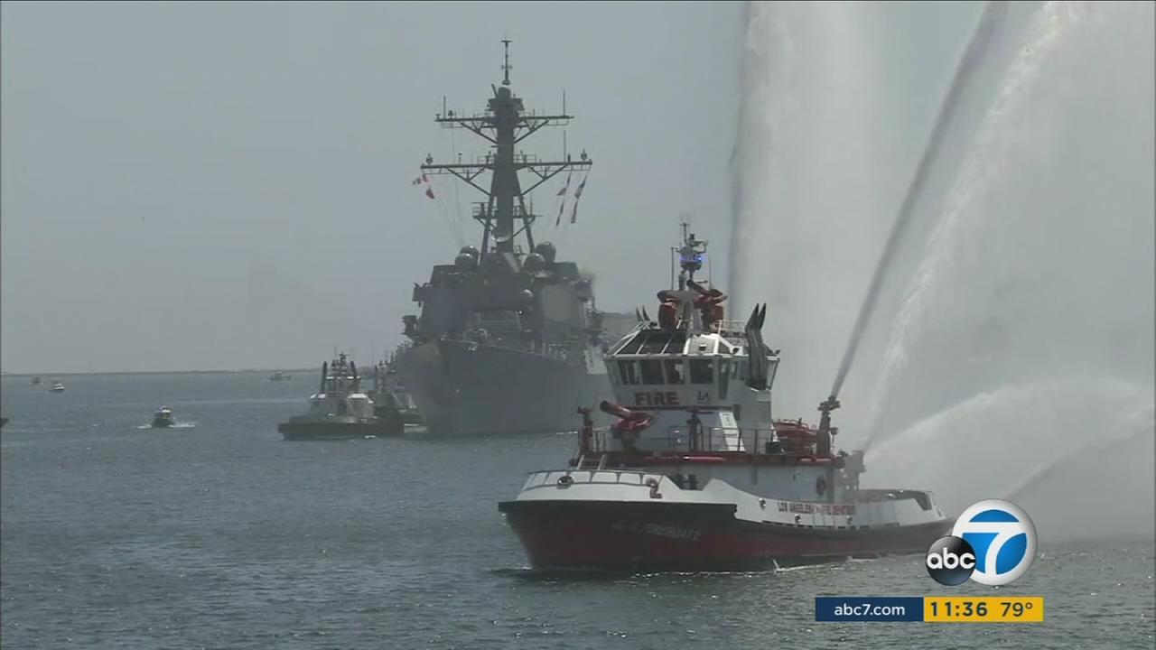 Fleet Week is coming to San Pedro for the first time over the Labor Day Weekend.
