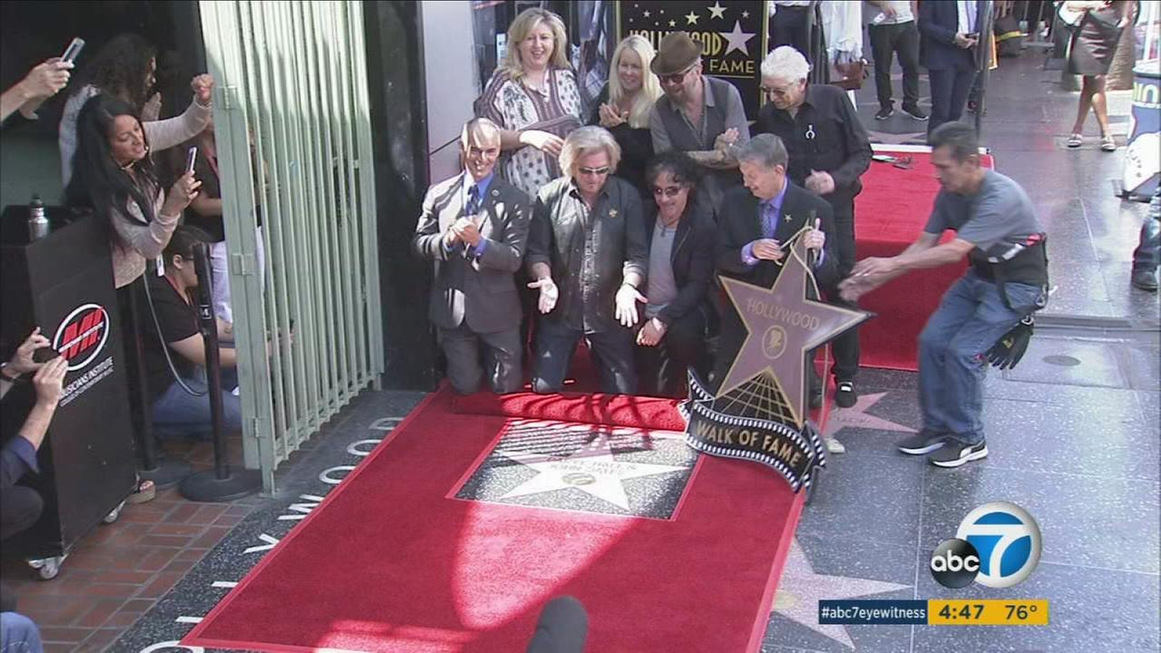 After 40 years in the music biz, Daryl Hall and John Oates have been honored with a star on the Hollywood Walk of Fame.