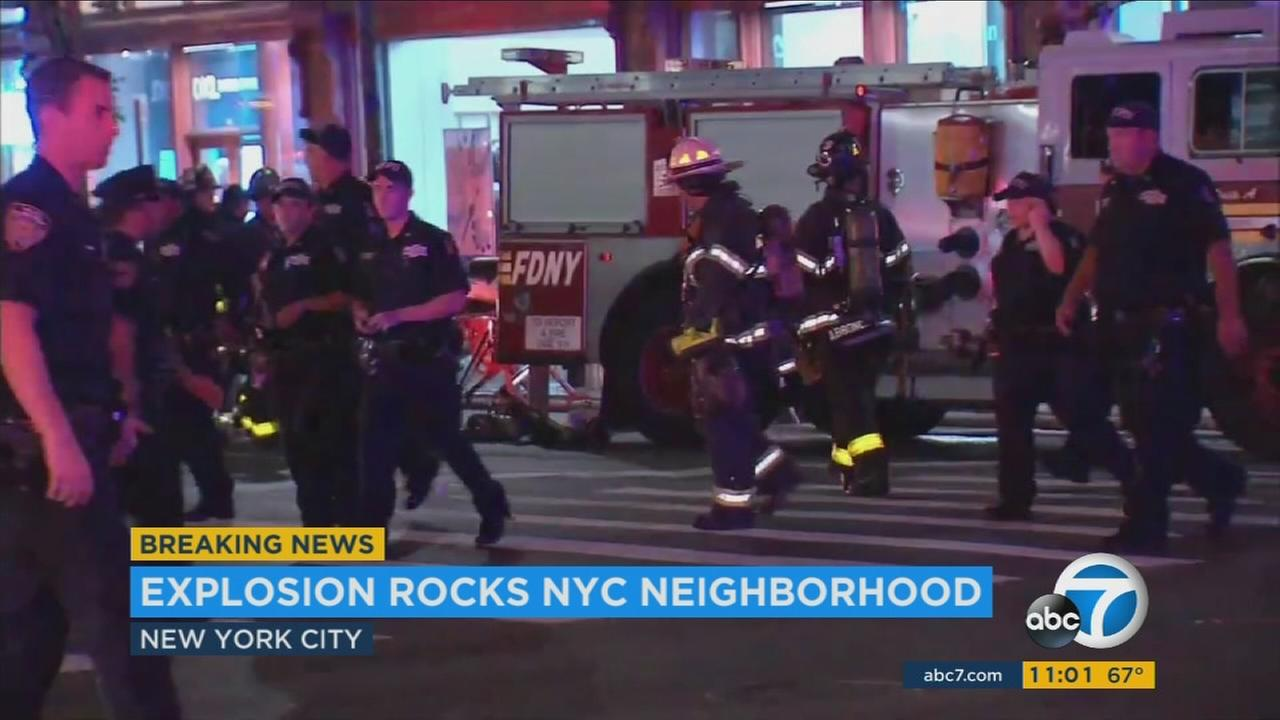 At least 29 people were injured in an explosion in the Chelsea neighborhood of Manhattan and a 2nd device was safely removed from the same area without further harm.