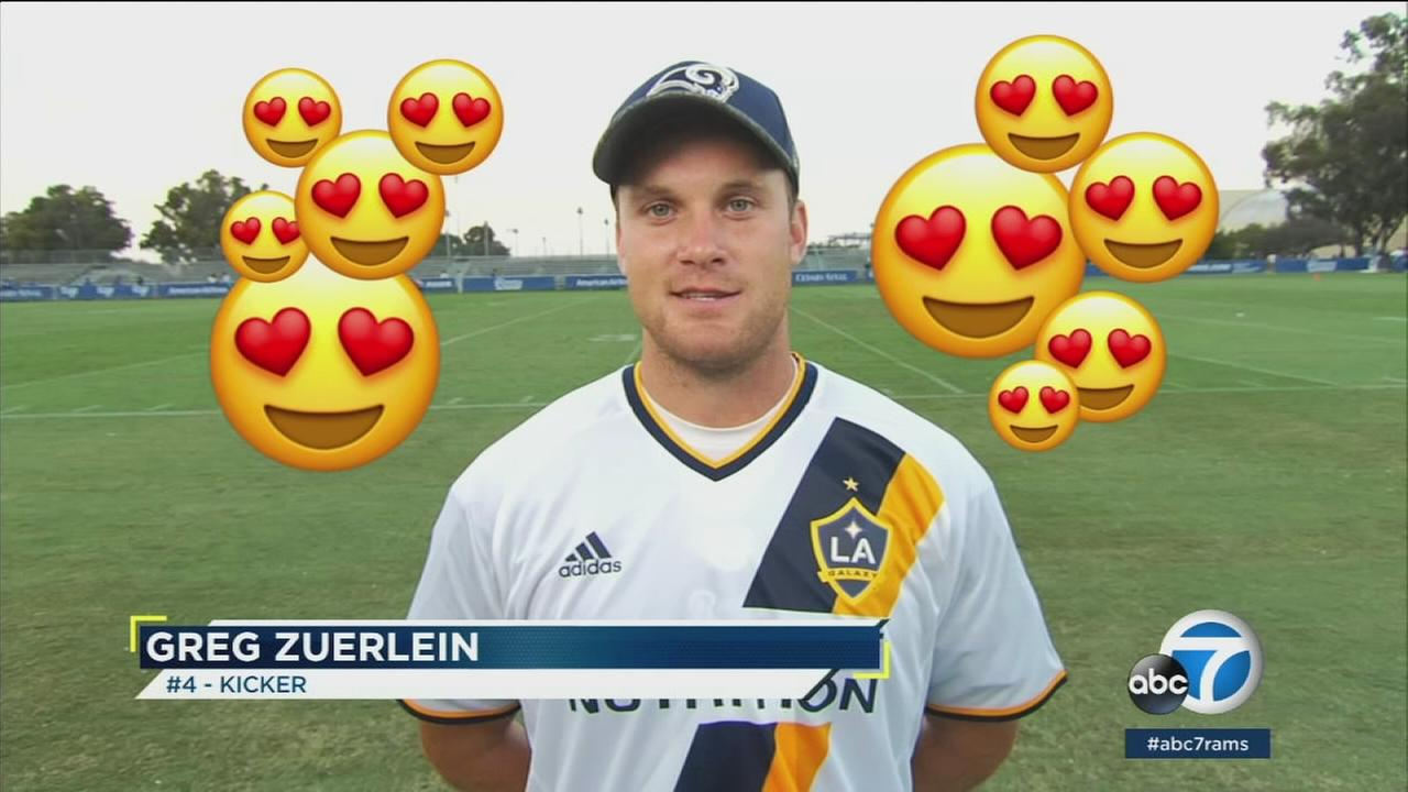 In an effort to learn more about the Los Angeles Rams players, ABC7 has what their favorite emojis were.