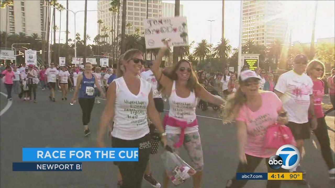 For those who strive for a cure for breast cancer, they are 25 years strong in Orange County.