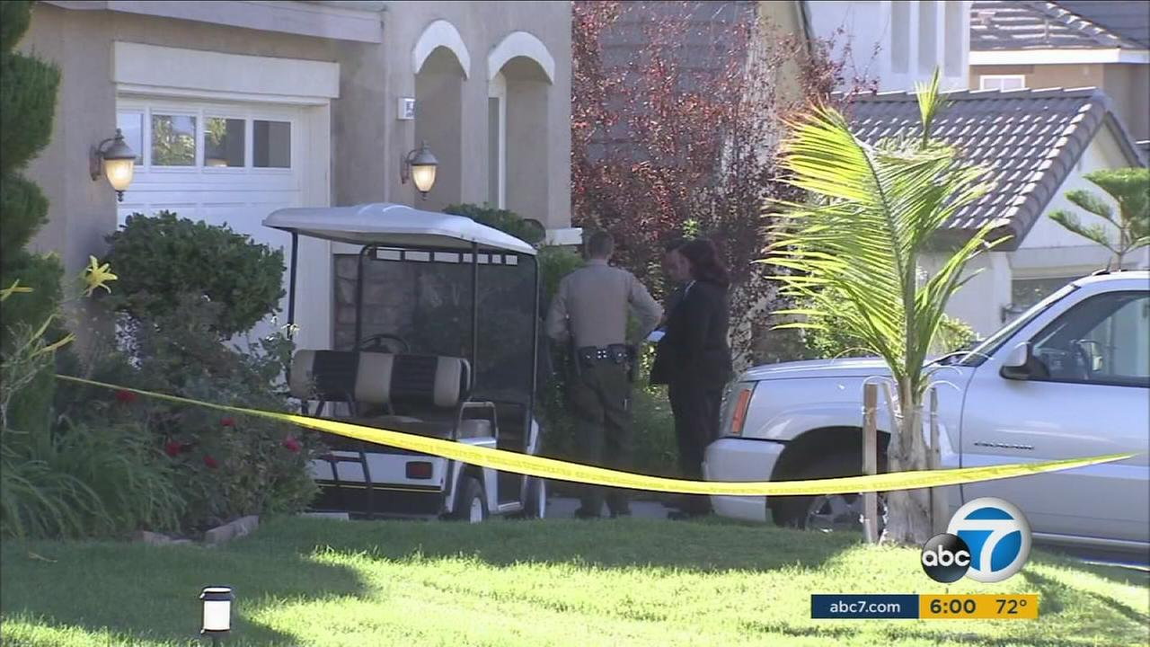 Homicide detectives are looking into the stabbing death of a woman found at a Saugus home.
