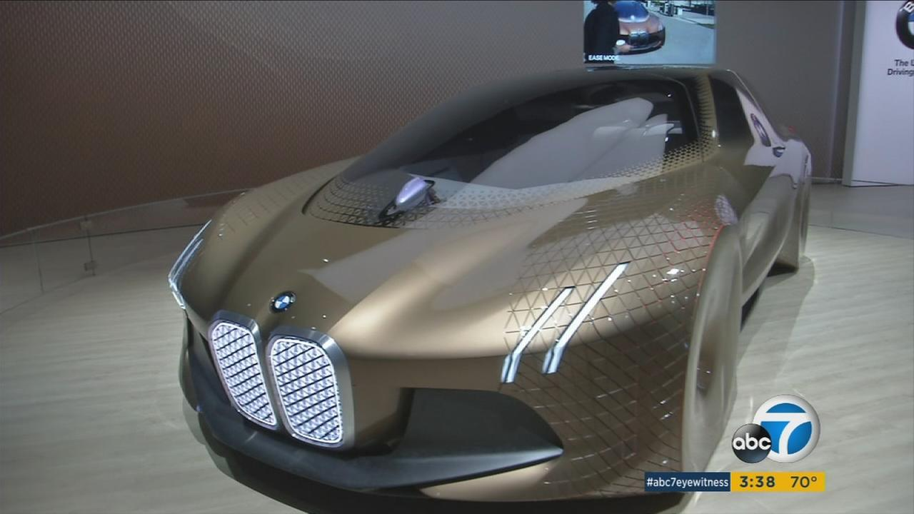 BMW unveiled its concept cars and motorcycles during the celebration of its 100th anniversary.