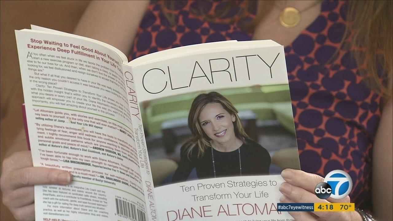 Diane Altomares new book Clarity focuses on the healing power of forgiveness.