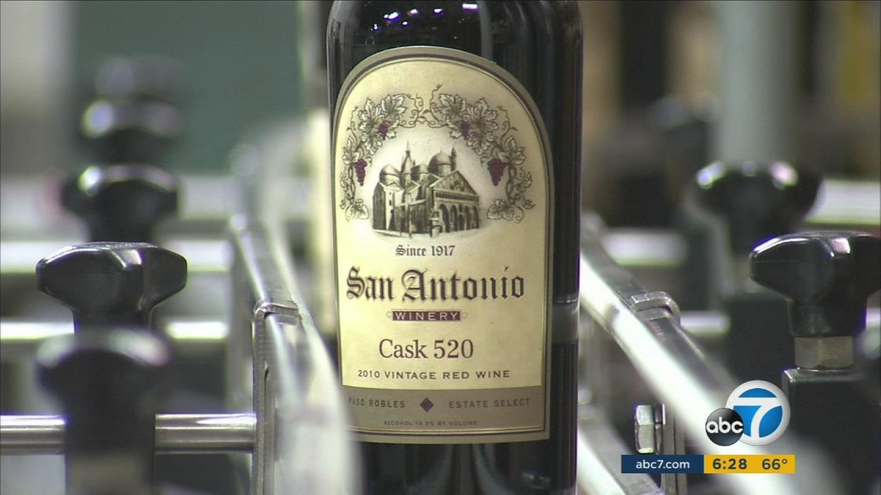 The historic San Antonio Winery in Los Angeles will celebrate its 100th anniversary.