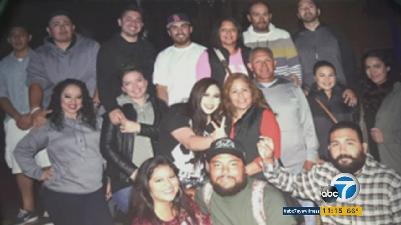 Several members of a Lake Elsinore family, shown in the photo above, were killed in an SUV crash in Pomona on Saturday, Oct. 15, 2016.