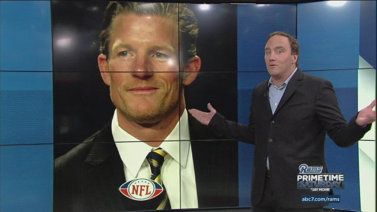 Jay Mohr proclaimed his man crush for Los Angeles Rams General Manager Les Snead on Rams Primetime Saturday with Jay Mohr.