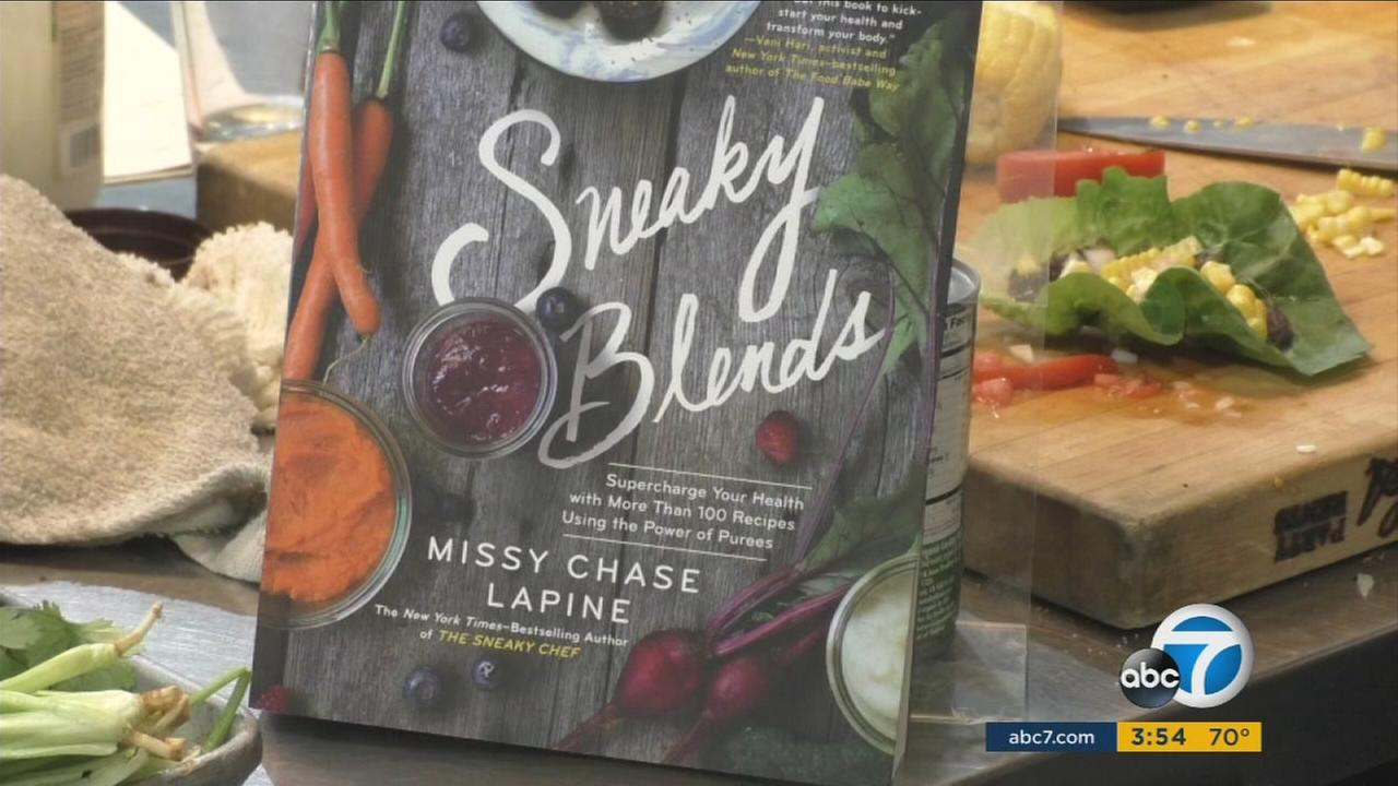 Missy Chase Lapines Sneaky Blends book is seen in an undated file photo.