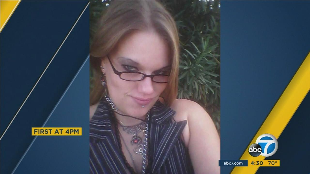Police said 33-year-old Crystal Golden was struck and killed by a vehicle in San Bernardino on Monday, Oct. 17, 2016.