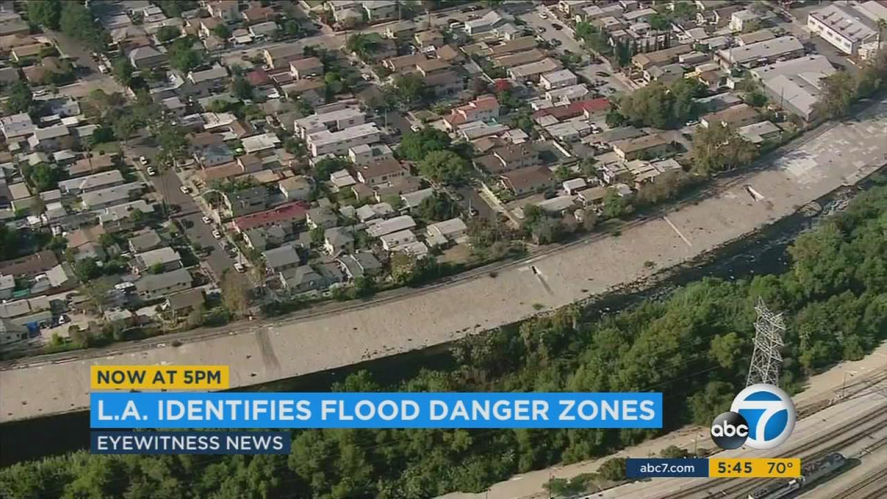 A new study found that thousands of homes along the Los Angeles River are in the way of catastrophic danger if a major flood were to hit the area.