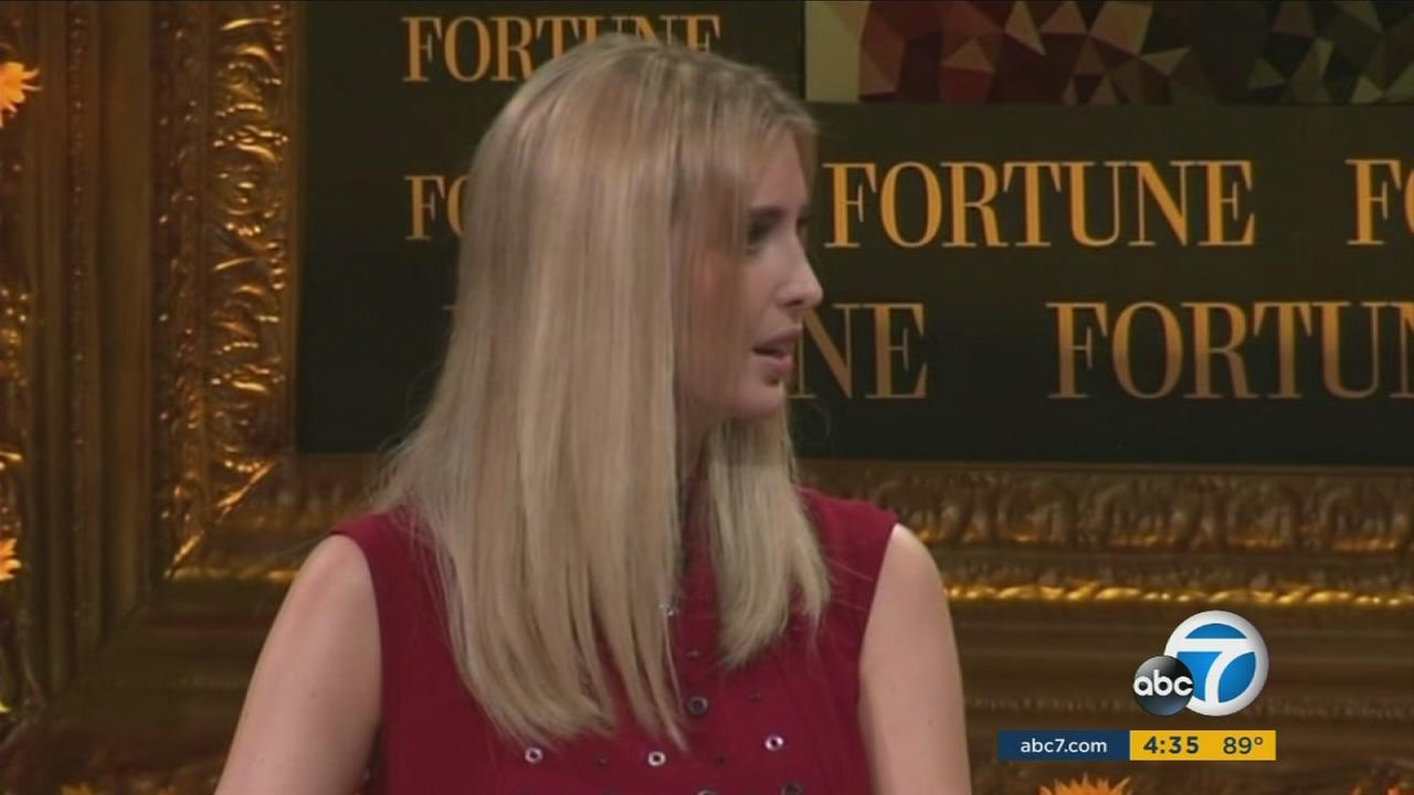 Donald Trumps daughter Ivanka appeared in Orange County on Wednesday, defending her dad and saying he would accept the outcome of the vote despite assertions that the election is rigged.