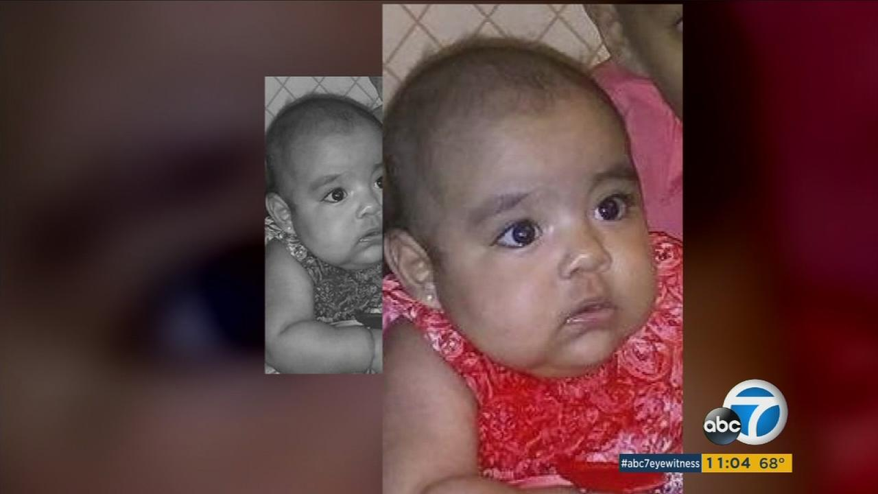 A man apparently stabbed his own 13-month-old child to death, then set his apartment and himself on fire and stabbed himself in North Hollywood, police said.
