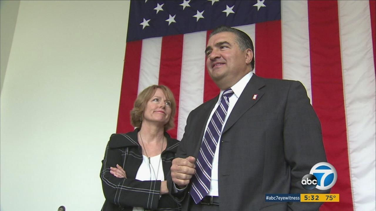 Republican Mayor Pro Tempore of Santa Clarita, Dante Acosta, runs for the 38th state assembly seat against Democrat Christy Smith amid scandal.