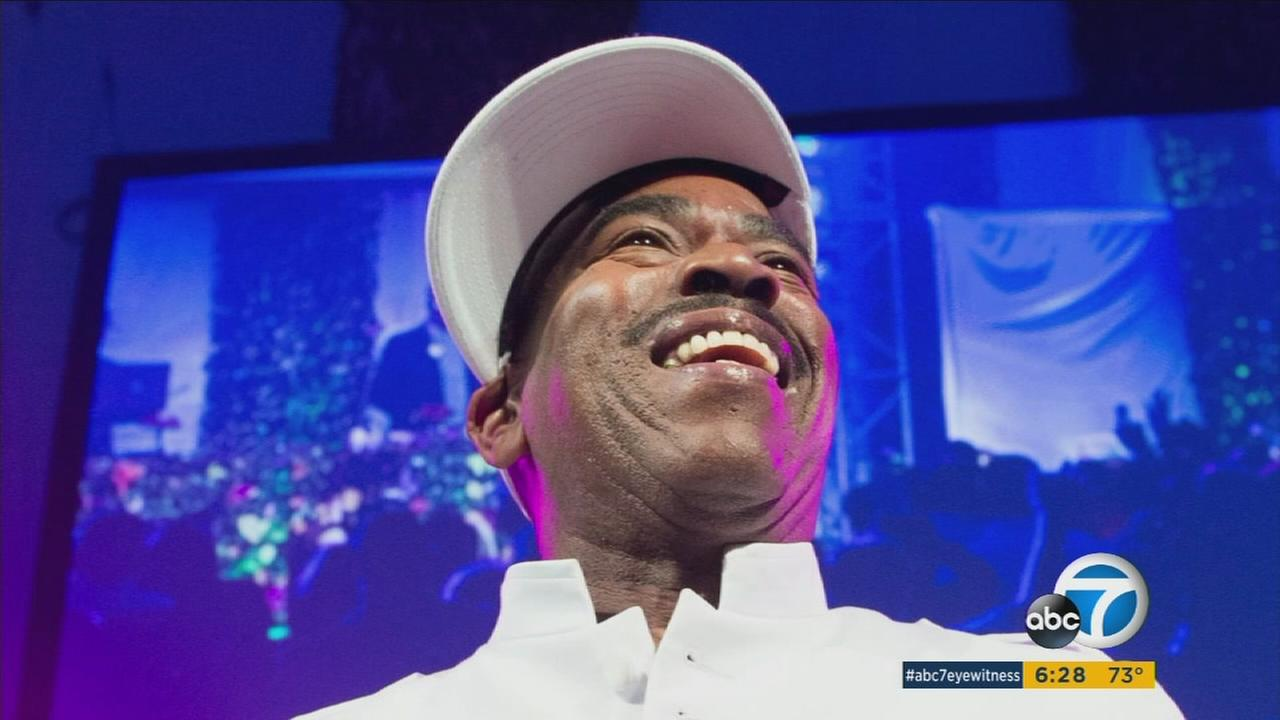 Kurtis Walker, also known as 80s rapper Kurtis Blow, is shown in an undated photo.