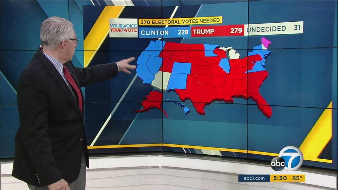 A state-by-state electoral map shows how incorrect polls were about predicting a Hillary Clinton victory.
