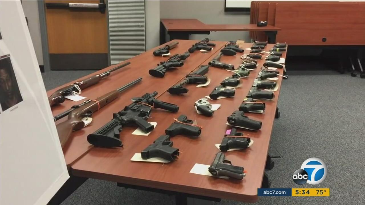 A task force created by San Bernardino law enforcement agencies led to the arrest of 41 criminals after an extensive effort to curb street gang activity.