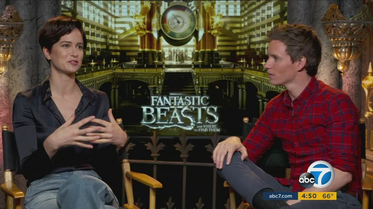 Oscar winner Eddie Redmayne taps into his inner child to join the wizarding world in Fantastic Beasts and Where to Find Them.