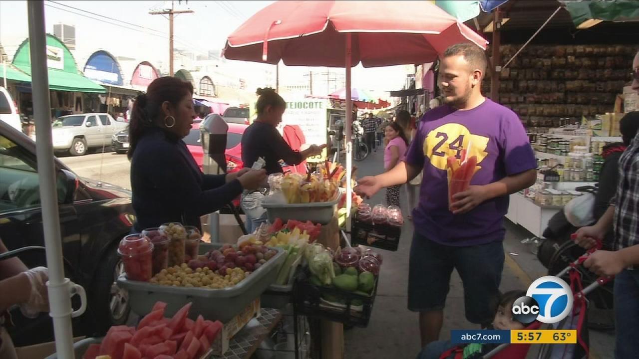 Proposed legislation would decriminalize, regulate and protect sidewalk vendors in Los Angeles.