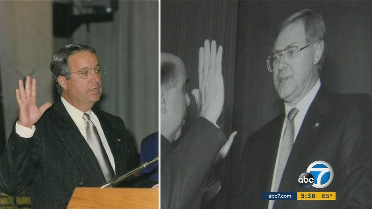 Two longtime Los Angeles County supervisors are leaving office due to term limits, and both reflected back on decades of service to the community.