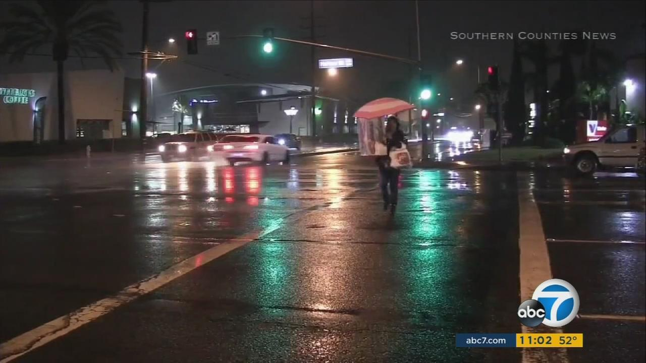 With heavy rainfall and snow on Saturday, Los Angeles area firefighters were on high alert, ready for any storm-related emergencies.