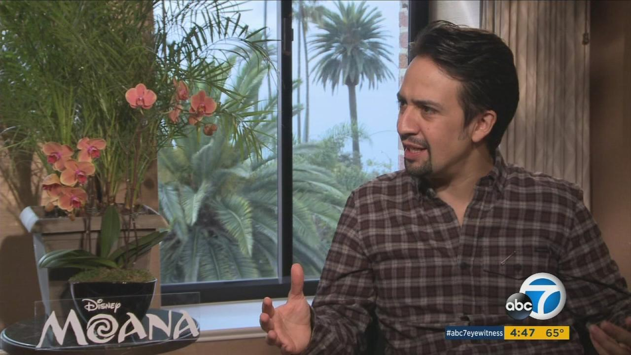 Lin-Manuel Miranda shared his effort in escaping Disney songwriting pressures for Moana while balancing his work with the musical Hamilton.