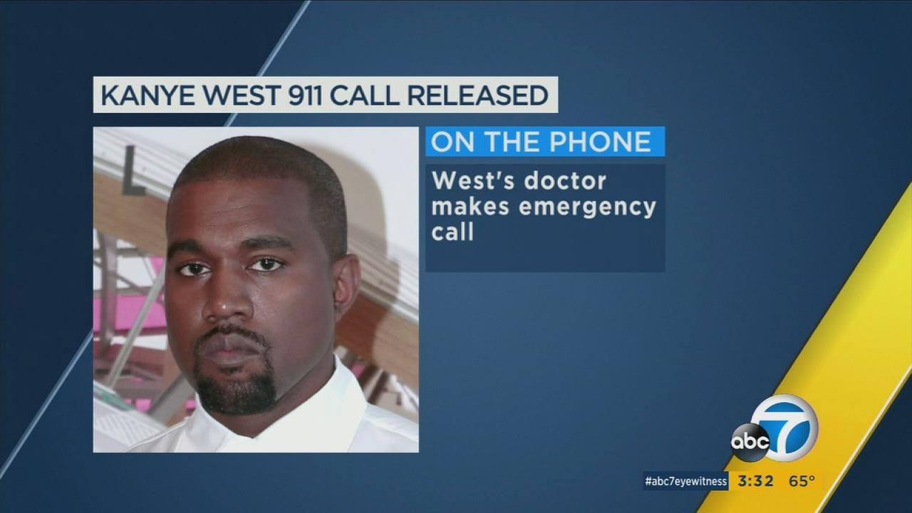 Newly released audio from the 911 call made by Kanye Wests doctor on the day of his hospitalization is shedding new light on the concern for his mental health.
