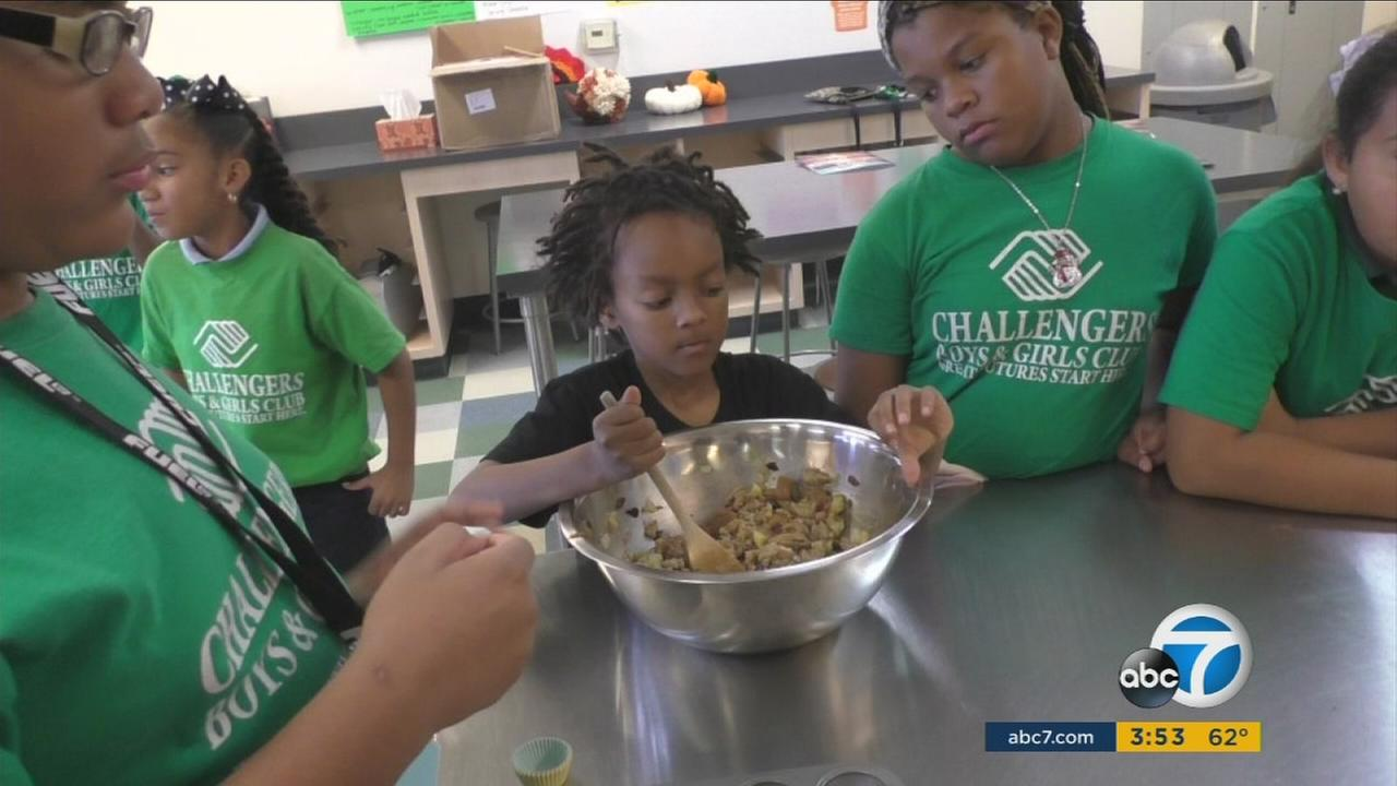 A nine-week program funded by ABC7 and Aetna teaches healthy cooking, dancing and yoga to help kids learn healthy life skills.