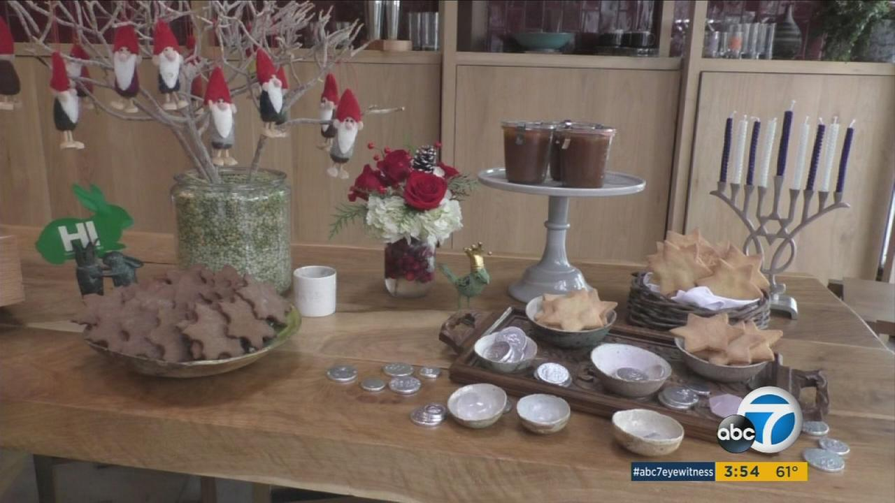 Hawaiian chef Makani makes holiday desserts to celebrate Hanukkah and Christmas.