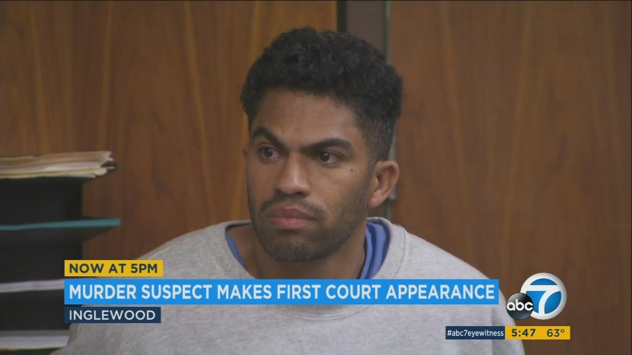 Jackie Jerome Rogers, the suspect in the killing of former reality show contestant Lisa Marie Naegle of San Pedro, was charged with her murder on Thursday.