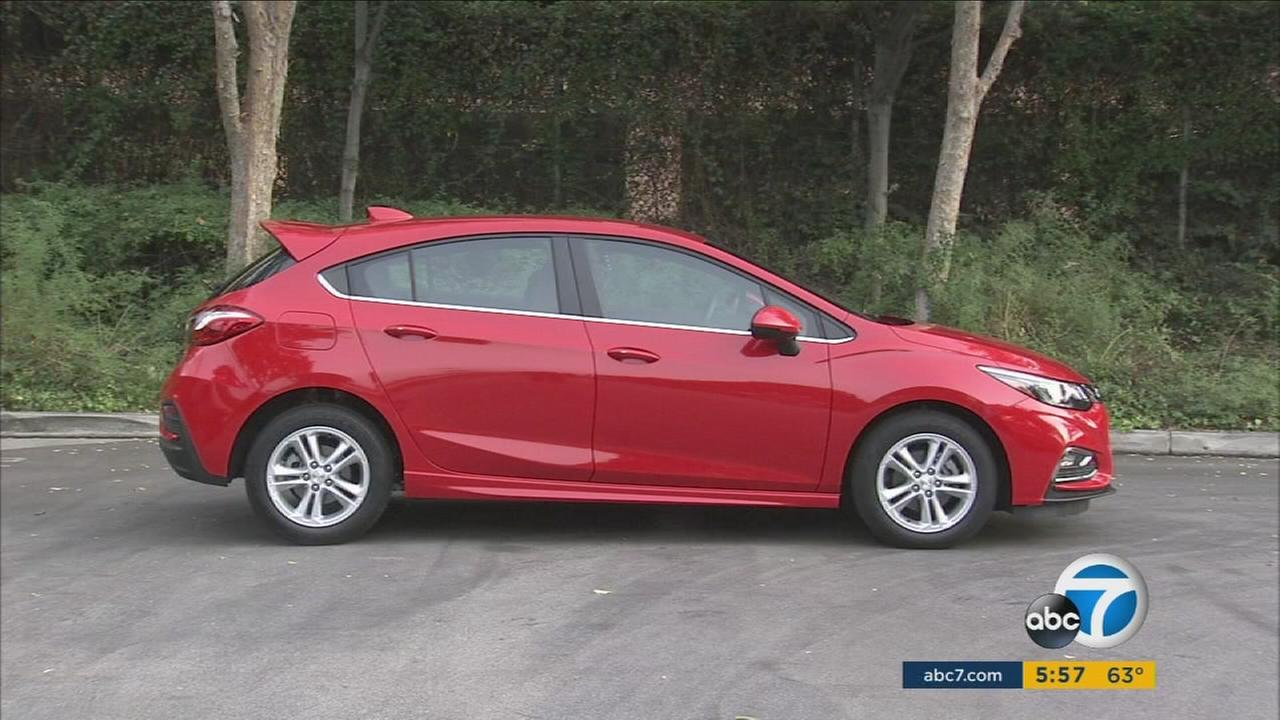 The Chevrolet Cruze is one of several cars that are adding hatchback options in 2017.