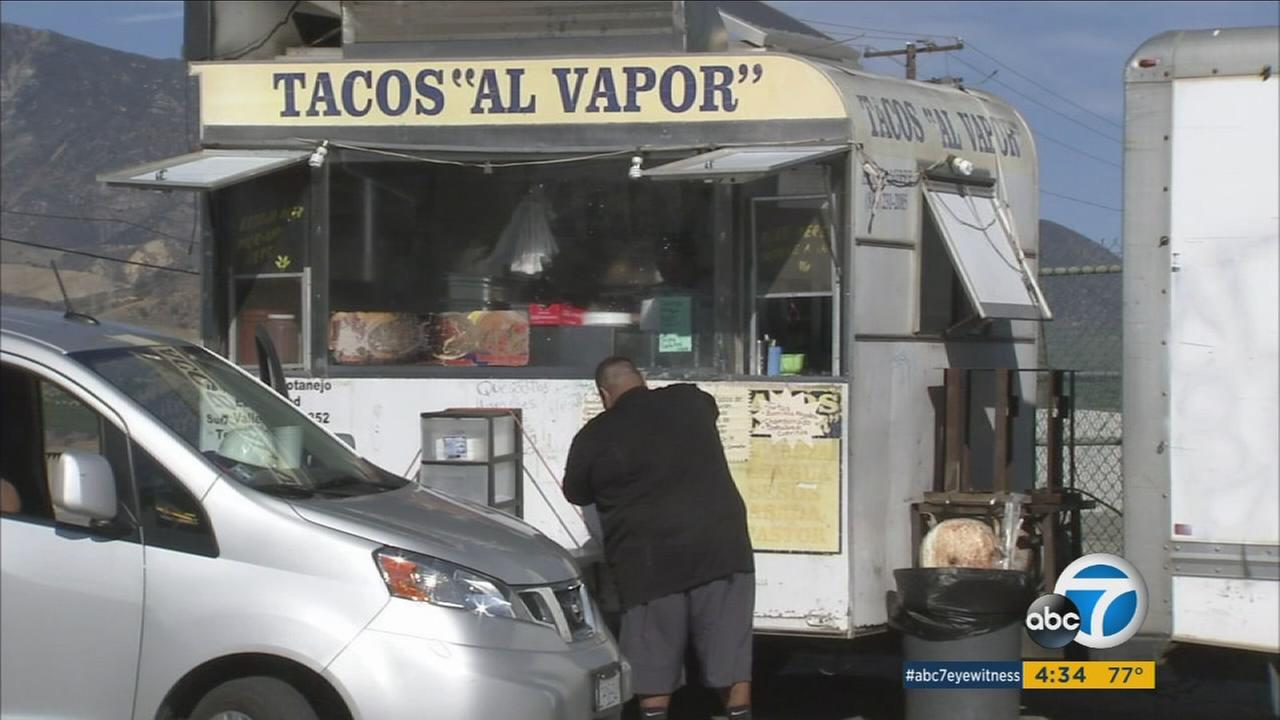 A food truck in Santa Paula is shown in an undated photo.