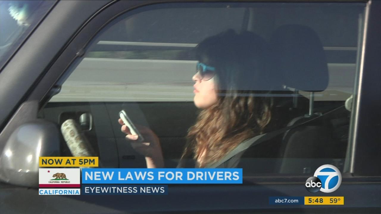 There are new rules for the road in California in 2017.