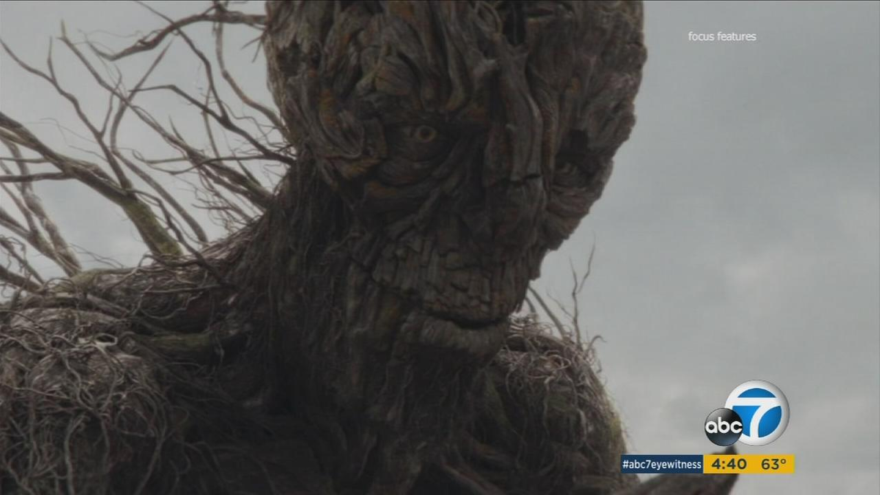 In A Monster Calls, Liam Neeson voices a tree monster who says hes been summoned by a boy struggling with a tough time in his life.