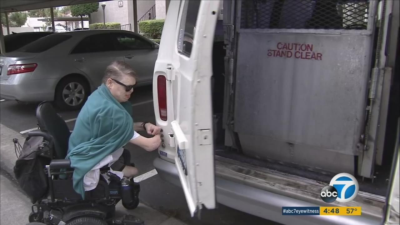 Unable to leave his home due to a malfunctioning van, Loma Linda resident Phillip Campbell had a YouCaring fundraising page set up for him by his assistant.