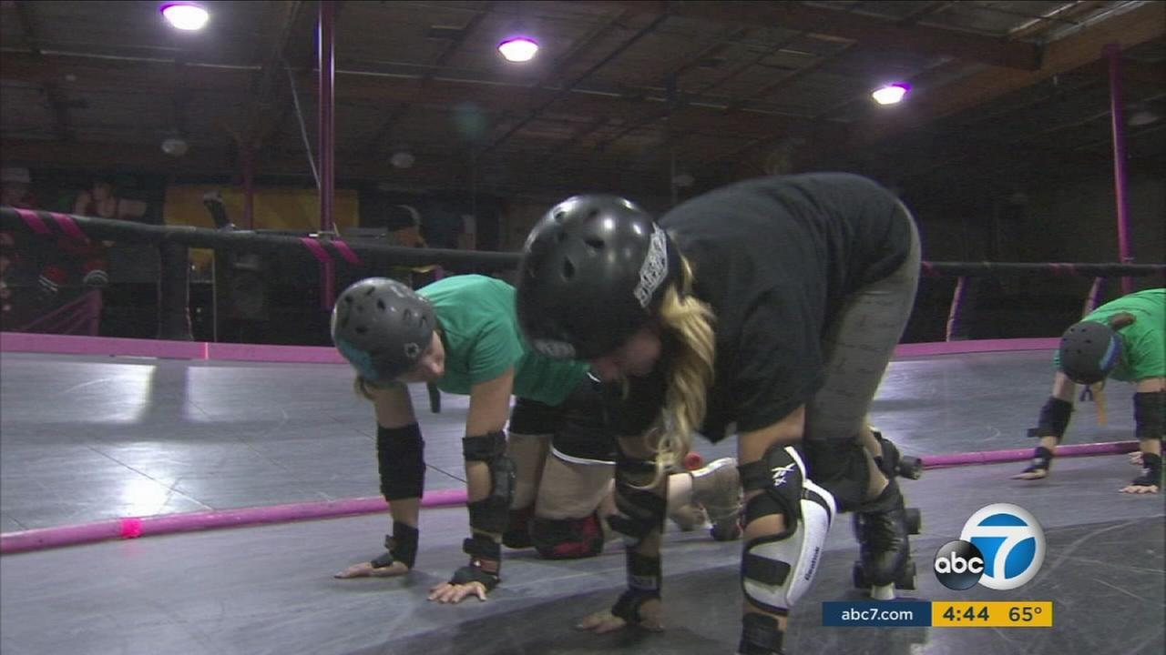 The Los Angeles Derby Dolls roller derby team is in danger of canceling its 2017 schedule unless it can raise enough funds to bring its building up to code.