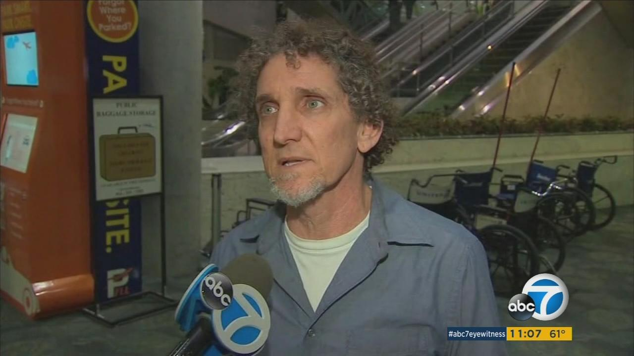 Randy, a Los Angeles resident, spoke with ABC7 Eyewitness News about his scary situation at the Ft. Lauderdale airport during the deadly shooting.