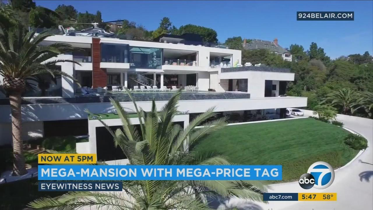 250 Million Bel Air Mansion Most Expensive Us Home For Abc7
