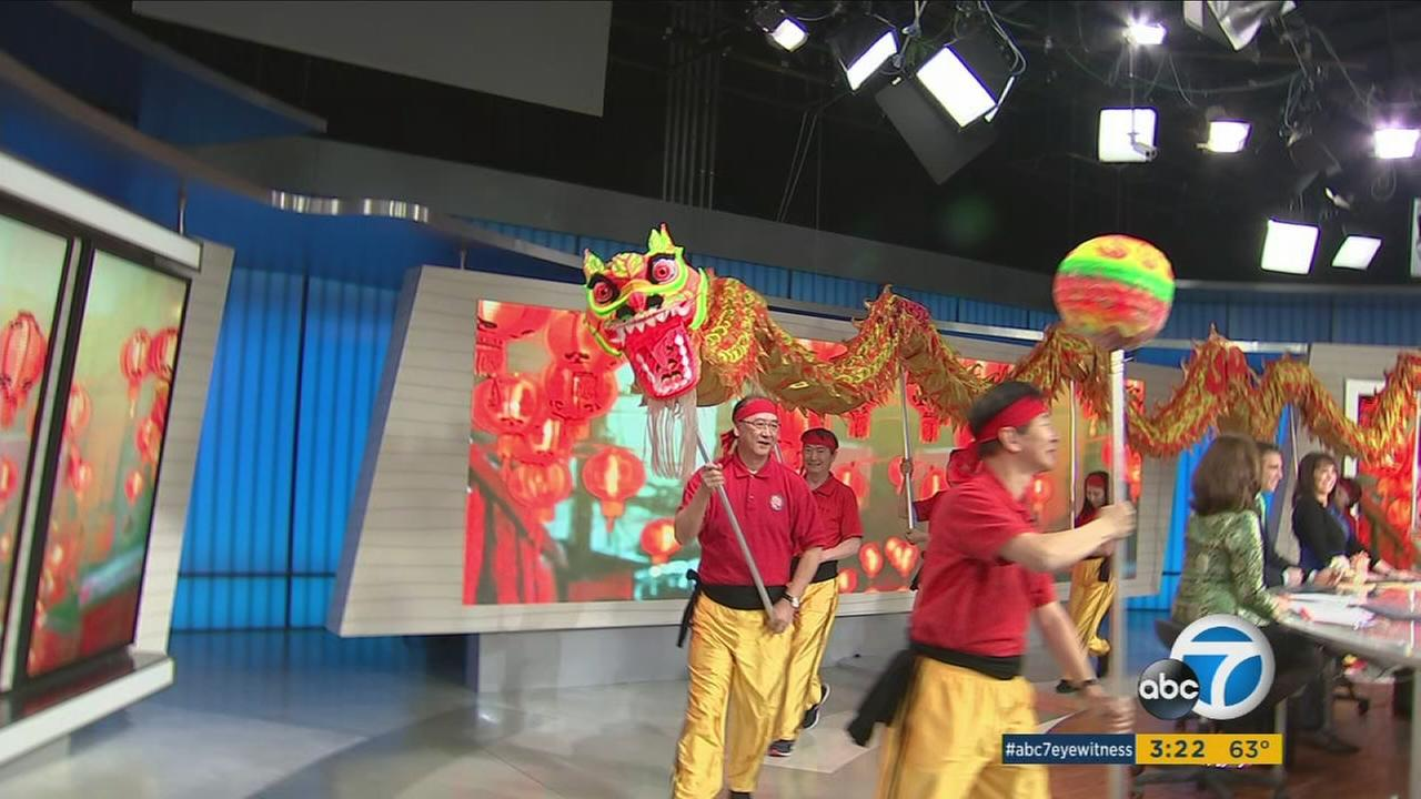 Officials said 250,000 people were expected to celebrate the Lunar New Year in Monterey Park.