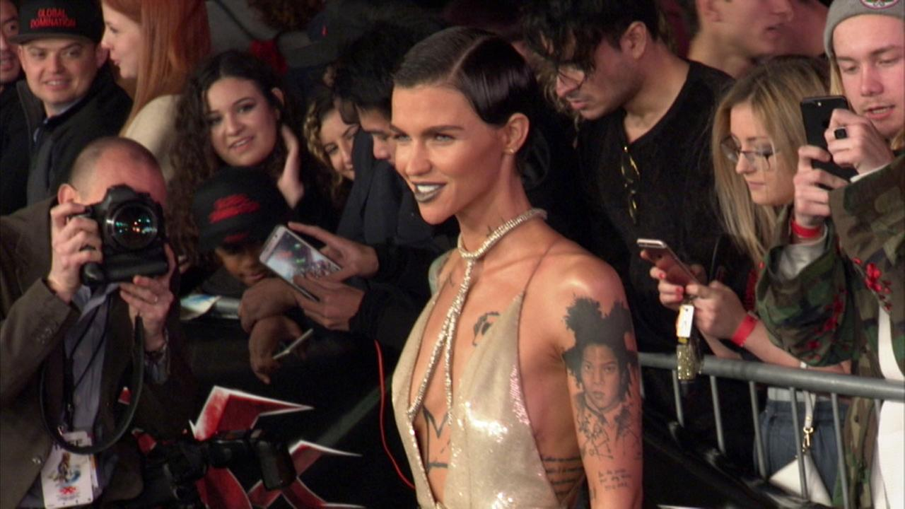 Actress Ruby Rose at the xXx: Return of Xander Cage Los Angeles premiere on Jan. 20, 2017.