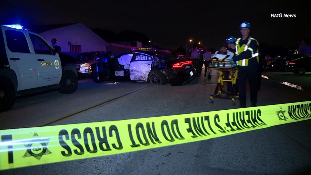 VIDEO: 1 officer, 3 others hospitalized after wild Buena Park chase ...