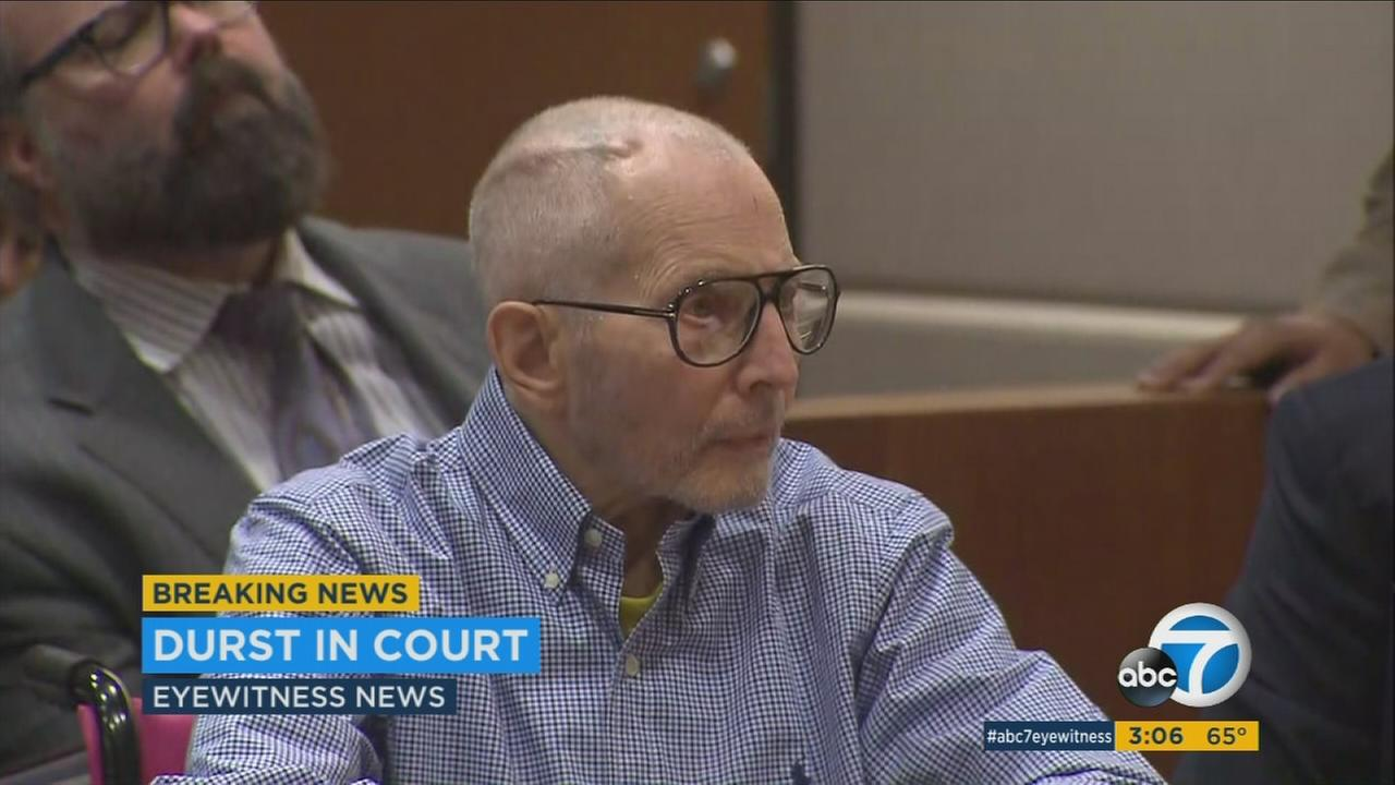 Real estate heir Robert Durst is on trial for murder in Los Angeles.